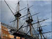 SU6200 : HMS Victory by Peter Trimming