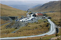NY2213 : Honister slate works and visitor centre by Ian Greig