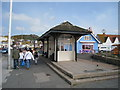 TQ8209 : Bus Shelter, East Parade, Hastings by Oast House Archive