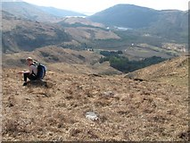 NN0548 : Mountainside above Glenure by CBL