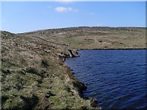 NS4875 : Drainage beside Cochno Loch by Stephen Sweeney