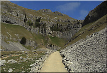 SD9163 : Approaching Gordale Scar by michael ely