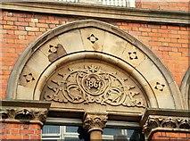 J3373 : Bryson House, Belfast (detail) (2) by Albert Bridge