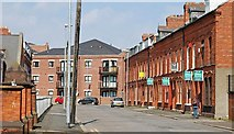 J3472 : Westminster Street, Belfast by Albert Bridge