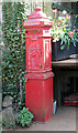 TF9113 : Fransham Forge - cast iron postbox by Evelyn Simak