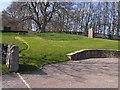 NT9204 : Car park for Harbottle Castle by Oliver Dixon