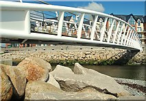 J3731 : Footbridge, Newcastle (3) by Albert Bridge