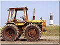 TA4011 : Rusting Tractor by Andy Beecroft