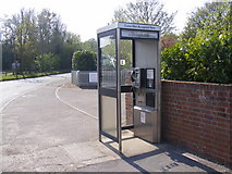 TM3864 : Kelsale Telephone Box by Adrian Cable