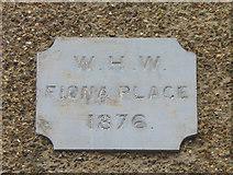 TQ4667 : Plaque, Lower Road by Ian Capper