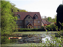 TQ6056 : Basted Mill Pond by Oast House Archive