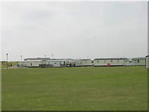 TA0983 : Caravan Park near Gristhorpe Cliff by JThomas