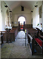 TF7505 : St Mary's church - view west by Evelyn Simak