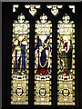 NY9365 : St. John Lee - stained glass window by Mike Quinn