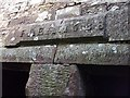 NY1844 : Sandraw. Date above original farmhouse door. by John Lord
