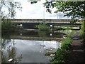 SO9887 : M5 crossing Titford Pool - Titford Canal by John M