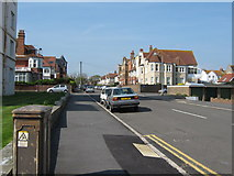 TQ7407 : Dorset Road South seen from the sea front by Terry Head