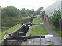 SO9988 : Titford or Oldbury Locks -Titford Canal by John M