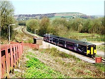 SD7217 : Entwistle railway station by Bryan Pready