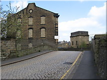 SE0641 : Keighley - bridge on Low Mill Lane by Dave Bevis