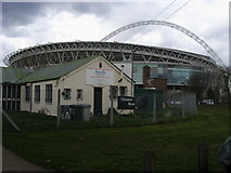 TQ1985 : Wembley Stadium by Shaun Ferguson