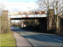 SK1000 : Railway bridge over Blake Street, Little Aston by Graham Taylor