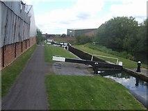 SO9988 : Titford Locks - Lock No 4 by John M