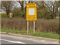"""T0415 : """"Drive on left"""" road sign near Rosslare by David Hawgood"""