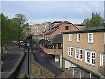 SJ4065 : Apartments next to the city walls by John S Turner
