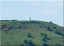 SJ9377 : White Nancy, Bollington (from Blaze Hill) by Peter Taylor