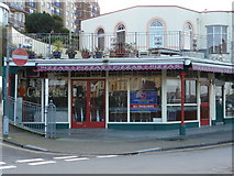 SS5247 : Café Crème, No. 14 The Promenade, Wilder Road, Ilfracombe. by Roger A Smith