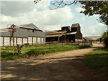 TL2933 : Part of Bury Farm, close to the church by Robert Edwards