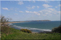 SH2428 : Hell's Mouth on the Lleyn Peninsula by STEVE POVEY