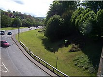 SS9612 : Tiverton : Great Western Way & Heathcoat Way by Lewis Clarke