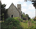 TG3103 : The ruin of St Margaret's church by Evelyn Simak