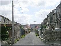 SE1734 : Back Dudley Hill Road - Wellington Road by Betty Longbottom