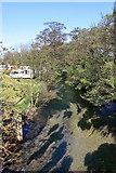 TA0256 : Upstream along the river Hull by Peter Church