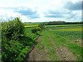 TA0666 : Bridleway West of Kilham Grange by JThomas