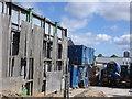 NZ2564 : Inside the concrete works yard, Shieldfield by hayley green