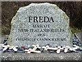 SJ9718 : Freda's Grave by Michael Marsh