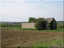TL1054 : Redundant farm buildings on the Wilden-Barford road by Michael Trolove
