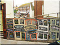TQ8209 : Hoarding on High Street, Hastings by Oast House Archive