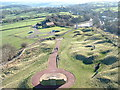 SK3455 : View from Crich Memorial by JThomas