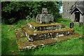 SO3409 : Preaching cross, Llanvihangel Gobion Church by Philip Halling
