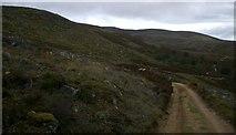 NO1795 : Track past Creag a' Chait by Alistair Nixon
