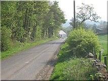 NT1686 : Road, Chapel by Richard Webb