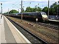 NZ2742 : Southbound GNER at Durham station by Kenneth Yarham