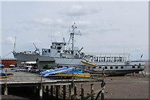 TQ8485 : HMS  Wilton by william
