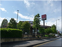 SZ0995 : Bournemouth : Muscliff - Pizza Hut by Lewis Clarke