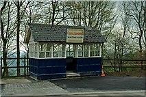 SK3455 : Wakebridge Waiting Room, Crich Tramway by P L Chadwick